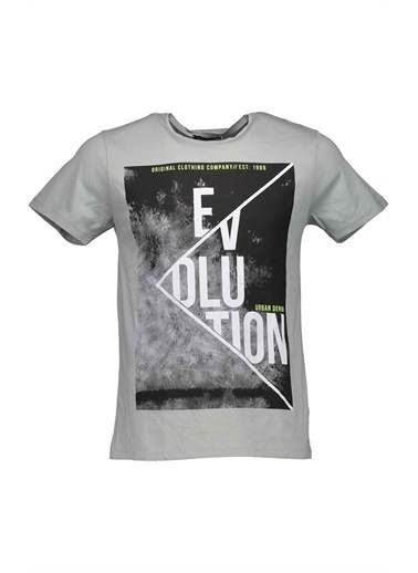 Collezione Gri Erkek Tshirt Gri